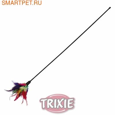 Trixie Игрушка для кошек Удочка с перьями