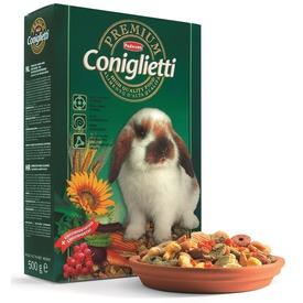 Padovan Premium Coniglietti - корм комплексный для кроликов и молодняка (фото)