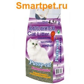 Pussy-Cat Наполнитель для кошачьего туалета Комкующийся (фото)