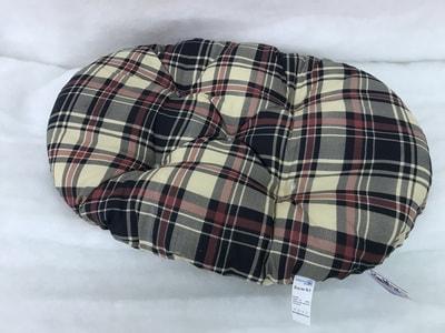 Бобровый дворик Лежак-подушка Клетка Бежевая (фото)