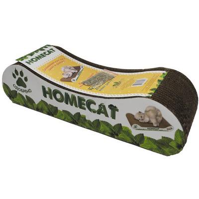 Homecat Когтеточка Мятная волна MINI для котят из гофрокартона