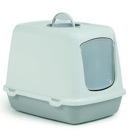 I.P.T.S./Beeztees Туалет-домик для кошек Oscar серый, с угольным фильтром