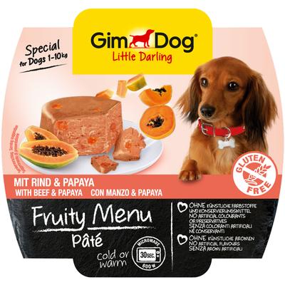 Gimpet Fruity Menu - Фрути Меню Паштет из говядины с папайей