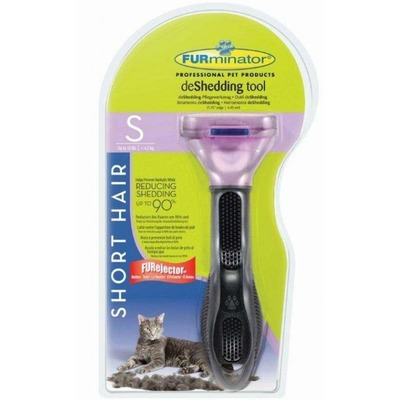 Furminator Short Hair Small Cat для маленьких кошек короткошерстных пород 4см