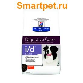 HILL'S Сухая диета для собак I/D для лечения ЖКТ, низкокалорийный