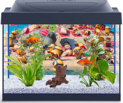 """Tetra Аквариумный комплекс """"Миньоны Goldfish"""", с LED освещением (фото)"""