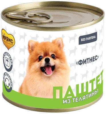 Мнямс Паштет из телятины для собак всех пород «Фитнес» (фото)