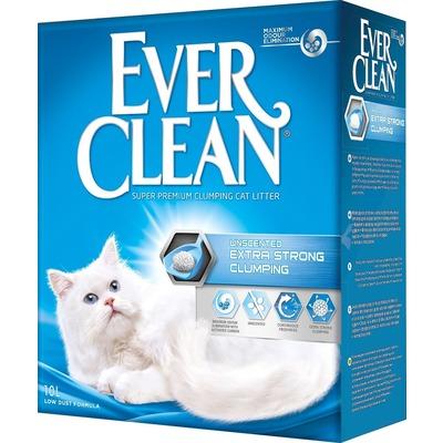 Ever Clean Extra Strength Clumping UnScented - комкующийся наполнитель без ароматизатора (фото)