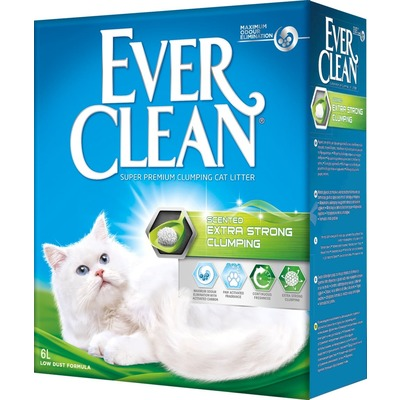 Ever Clean Extra Strong Clumping Scented комкующийся наполнитель c ароматизатором (фото)