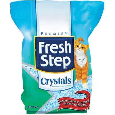 Fresh Step Crystals впитывающий силикагелевый наполнитель