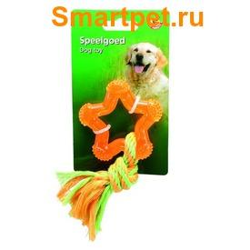 """I.P.T.S./Beeztees Игрушка для собак """"Звезда"""" оранжевая"""