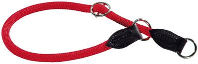 Hunter Ошейник-удавка для собак Freestyle нейлоновая стропа красный (фото)