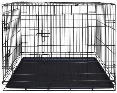 Lion Клетка двухдверная с пластиковым поддоном №4 (фото)