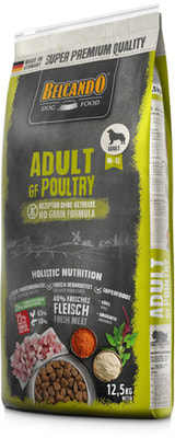 Сухой корм Belcando Adult Grain Free Poultry. Беззерновой корм эдалт птица (фото)