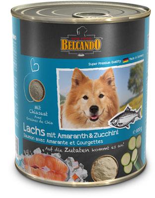 Belcando Super Premium Salmon With Amaranth & Courgettes. Консервированный корм Лосось с амарантом и цукини