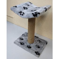 Дарэлл Когтеточка столбик с лежанкой для кошек