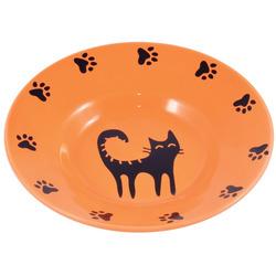 КерамикАрт Миска керамическая-блюдце для кошек 140мл