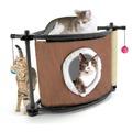 Kitty City Игровой комплекс с когтеточкой для кошек Сонное царство