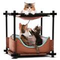 Kitty City Лежак для кошек Барские покои Cozy Bed
