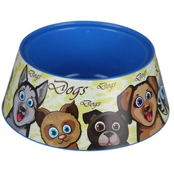 4 My Pets Пластиковая миска для собак Гавс