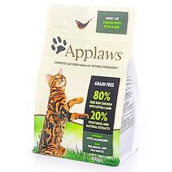 Сухой корм Applaws беззерновой для кошек Курица и ягненок 80/20% (Dry Cat Chicken with Lamb)