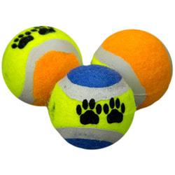 DOGMAN Игрушка для животных Теннисный мяч 2шт.