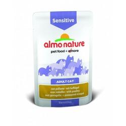 Almo Nature Паучи с птицей для кошек для улучшения работы кишечника with Poultry Sensitive
