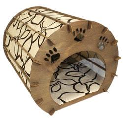 Smartpet Домик для кошек из фанеры Бочка