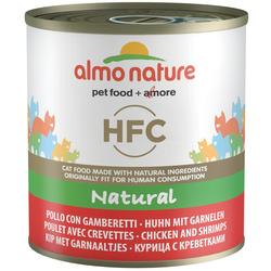 Almo Nature Консервы для Кошек с Курицей и Креветками. Classic HFC Adult Cat Chicken+Shrimps