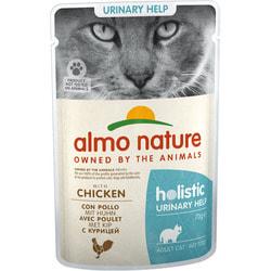 Almo Nature Паучи с курицей для профилактики мочекаменной болезни у кошек Urinary Support with Chicken