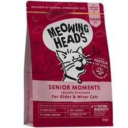 """Barking Heads Сухой корм для кошек старше 7 лет с лососем и яйцом """"Мудрые года"""""""