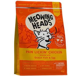 """Barking Heads Сухой корм для взрослых кошек """"Куриное наслаждение"""" с курицей и рисом"""