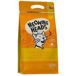"""Barking Heads Сухой корм для кошек с избыточным весом с курицей и лососем """"Худеющий толстячок"""""""