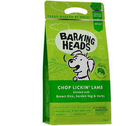 Barking Heads Сухой корм для собак с ягненком и рисом Роскошная шевелюра