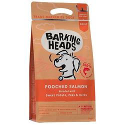 """Barking Heads Сухой беззерновой корм для собак с лососем и картофелем """"Суета вокруг миски"""""""