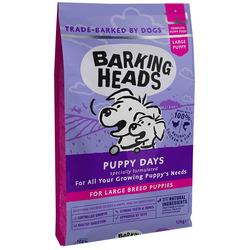 Barking Heads Сухой корм Большелапый малыш с курицей и лососем