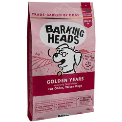Barking Heads Сухой корм для собак старше 7 лет с курицей и рисом Золотые годы