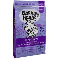 """Barking Heads Сухой корм для щенков с лососем и курицей """"Щенячьи деньки"""""""
