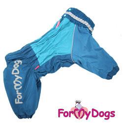 ForMyDogs Комбинезон для больших собак Сине-голубой, мальчик