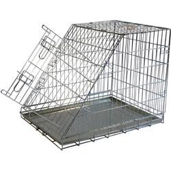 Papillon Клетка металлическая с уклоном для собак в багажник автомобиля