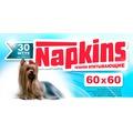 Napkins Впитывающие пеленки для собак 60х60см