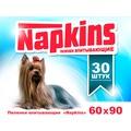 Napkins Впитывающие пеленки для собак 60х90см