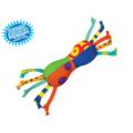 Petstages Игрушка для собак мелких пород с нежными деснами Mini Гантелька текстильная