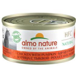 Almo Nature Консервы для Кошек с Курицей и Тыквой 75% мяса