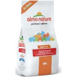 Almo Nature Сухой корм для взрослых кошек с говядиной и коричневым рисом, Holistic Adult Cat Adult Beef and Rice