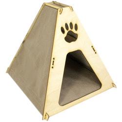 Smartpet Домик для кошек из фанеры Шалаш