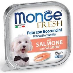 Консервы Monge Fresh Dog консервы для собак лосось