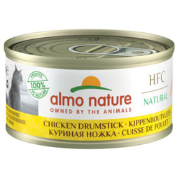 Almo Nature Консервы для Кошек Аппетитные Куриные бедрышки