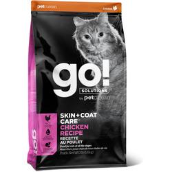 Сухой корм Go! Natural Holistic для Котят и Кошек с Цельной Курицей, фруктами и овощами (GO! SKIN + COAT Chicken Recipe for Cats 32/20)