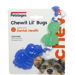 Petstages Игрушка для собак Mini ОРКА жуки, пара